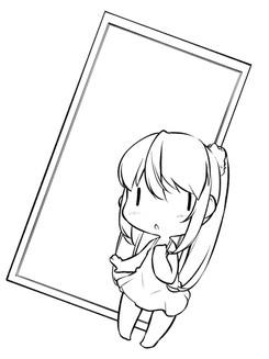 鏡の日(実体差分)