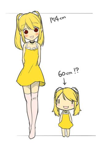 身長のサンプル