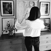 owner of Curatorio online vintage art gallery