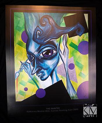 "PRINT ""The Painter"" 50 x 60 cm"