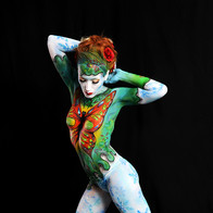 Bodypainting Spring