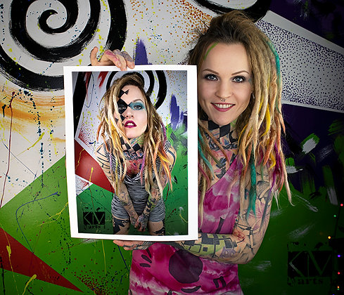 Artist Foto Print 30 x 40 cm