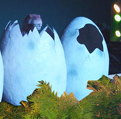 Dino Eier mieten