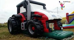 Hüpfburg Traktor mieten