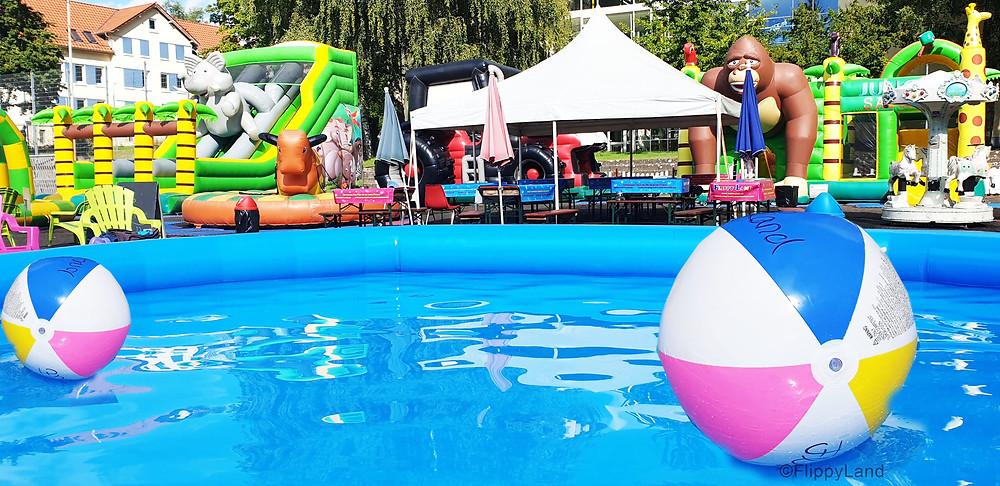 Bade Spaß im Hüpfburgenland Puchheim