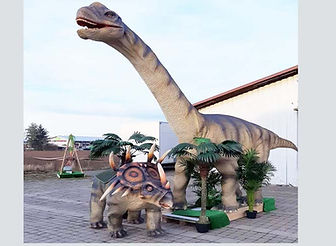Dinosaurier Brachiosaurus Langhals Trice