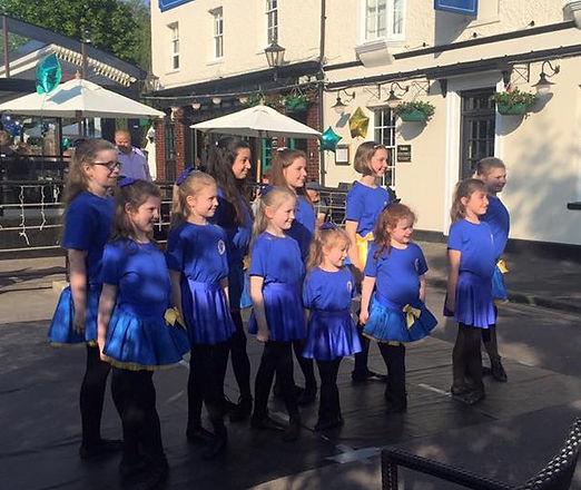 Irish dancers Windsor