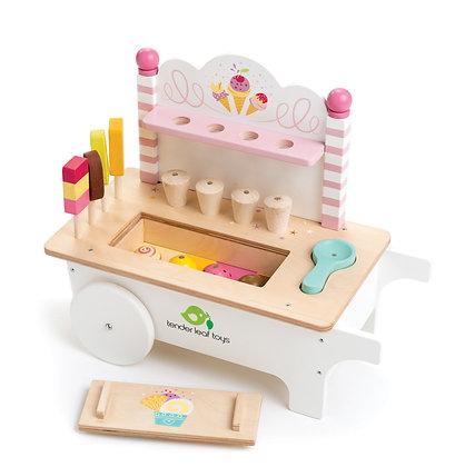 Push Along Ice Cream Cart