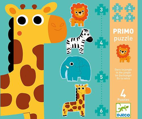 Jungle 3,4,5,6pc Giant Puzzle