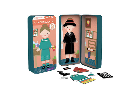 Travel Magnetic Puzzle Box - Curious Scientist