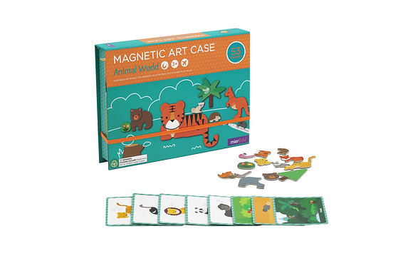 Magnetic Art Case - Animal World