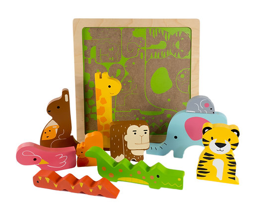 Wild Animal Chunky Puzzle