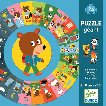The Day 24pc Giant Circle Puzzle