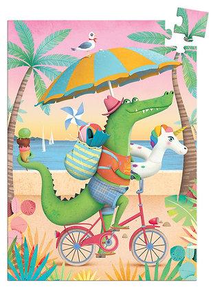 Croco Beach 60pc Mini Puzzle