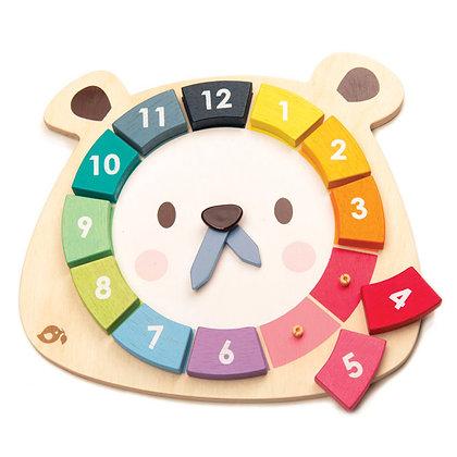 Bear Colours Clock