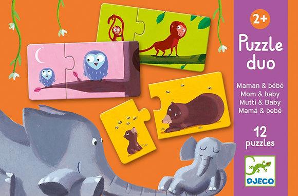 Duo Mum & Baby 24pc Puzzle