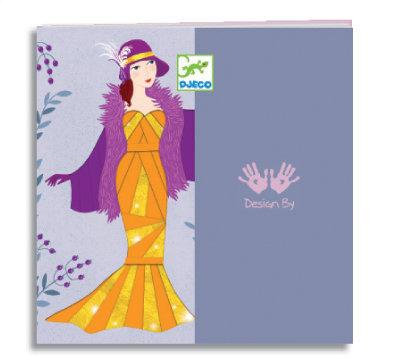 Art Deco Dresses Paper Creations Iris Paper Folding