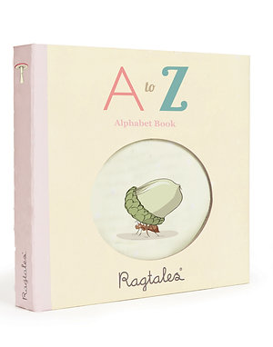 Rag Fabric Book Alphabet ABC