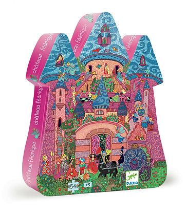 The Fairy Castle 54pc Silhouette Puzzle