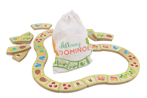 Garden Path Dominoes with Bag