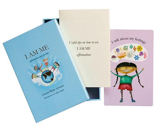 I AM ME affirmation cards for kids