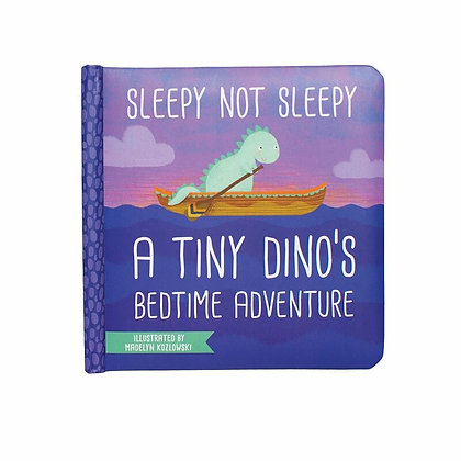 Sleepy Not Sleepy Dinos Bedtime Book