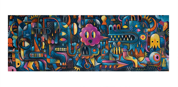 Monster Wall 500pc Gallery Puzzle