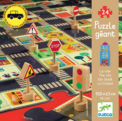 City Road 24pc Giant Puzzle
