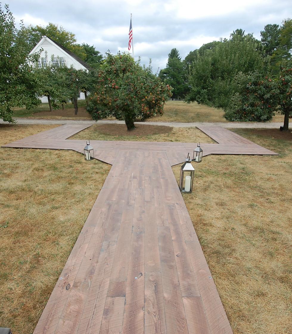 Sperry Tent NJ-Early American Barn Board