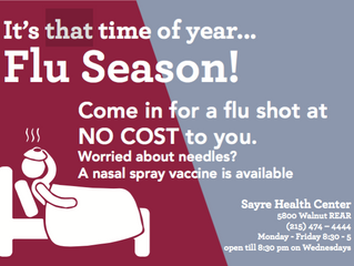Free Flu Shots- Get one today