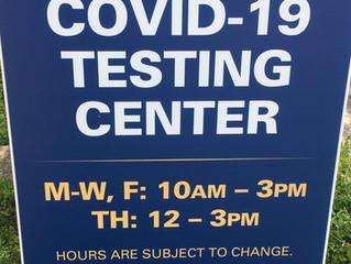 COVID Testing Thank You