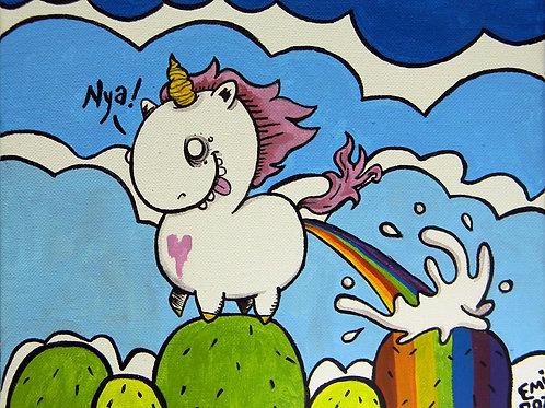 Stupid, Happy Unicorn