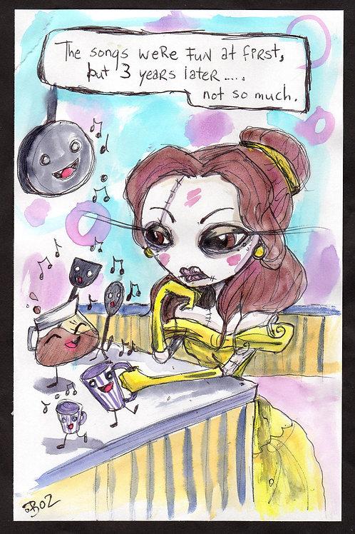 Depressed Princess Series- Belle