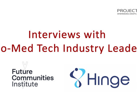 Leaders in the Bio-Med Industry talk about their journeys, successes, and advice for students