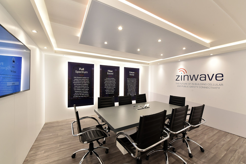 Zinwave meeting room - MWC