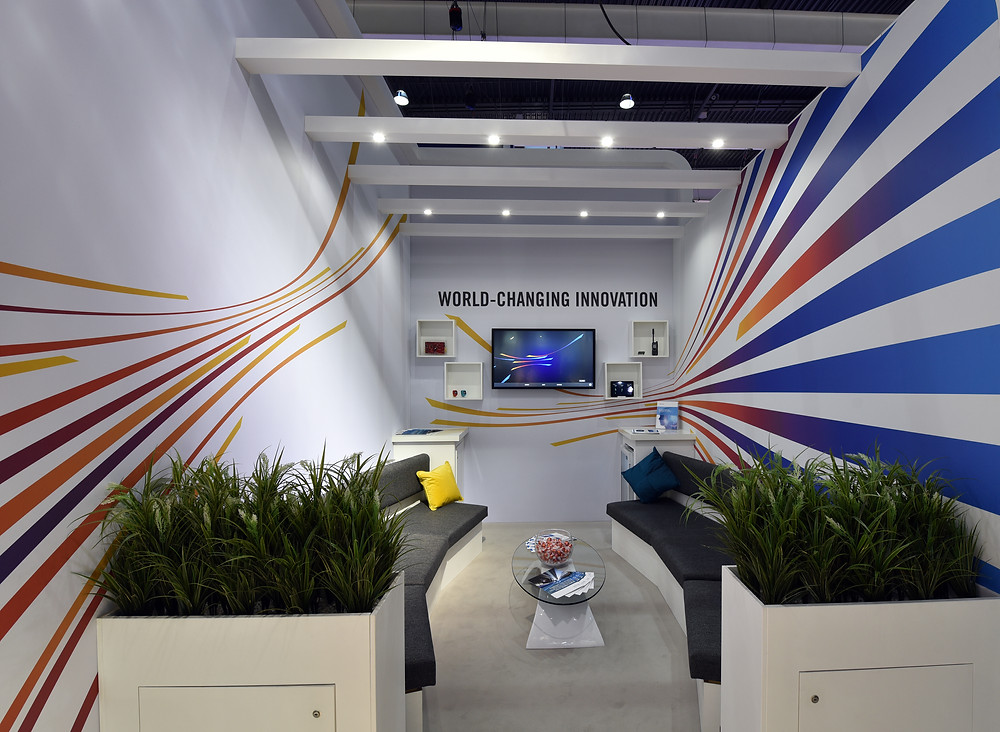MWC - exhibition stand