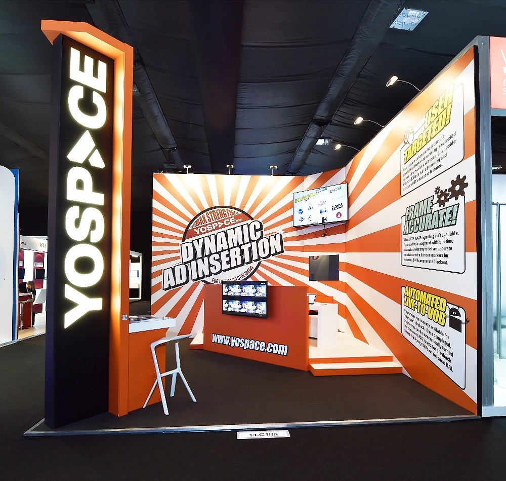 Yospace trade show stand design