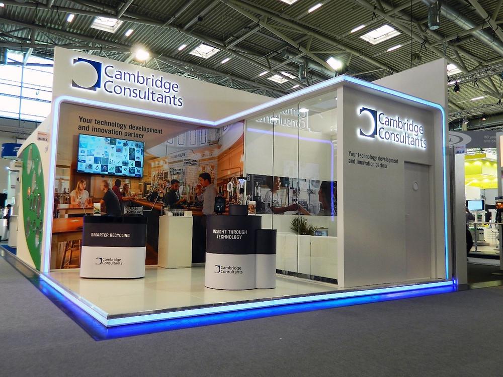 Cambridge Consultants - Custom exhibition build
