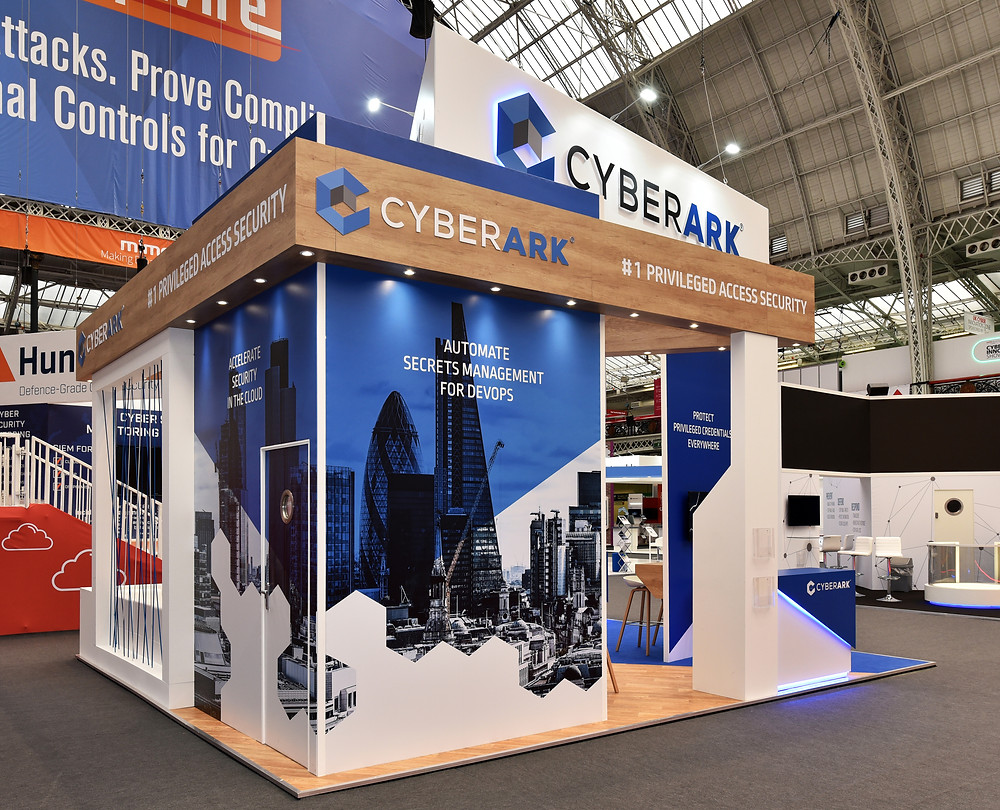 Cyberark exhibition stand design