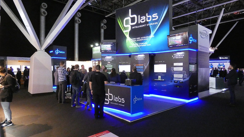 GB Labs exhibition stand