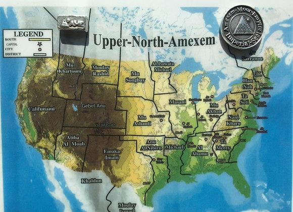 Upper-North Amexem Map