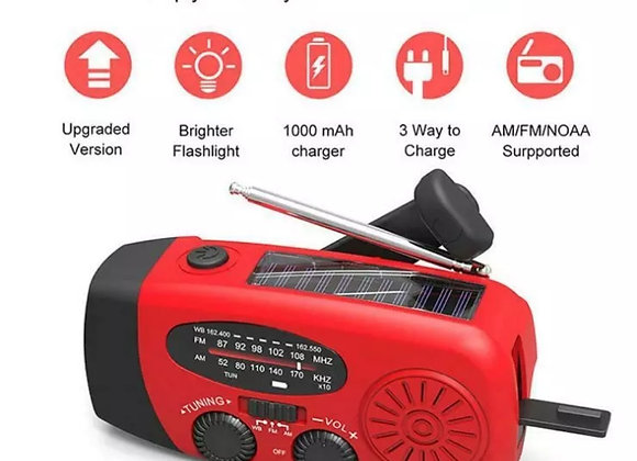 Self-Powered Hand-Crank Radio and Phone Charger
