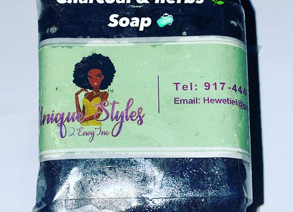 Charcoal Soap by Unique Styles