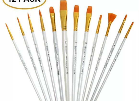 Paint Brush Set (12pk.)