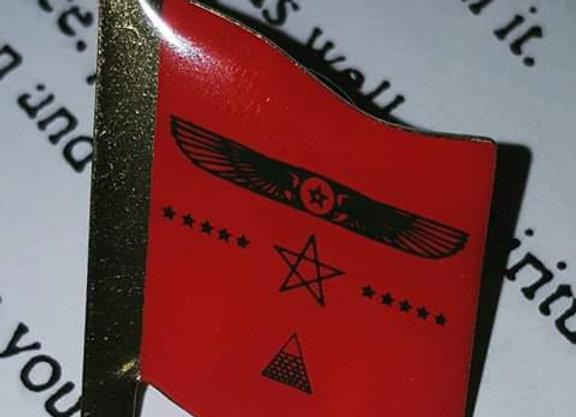 A-M-E: Imperial Flag Pin