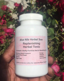 Blue Nile Herbal Tea