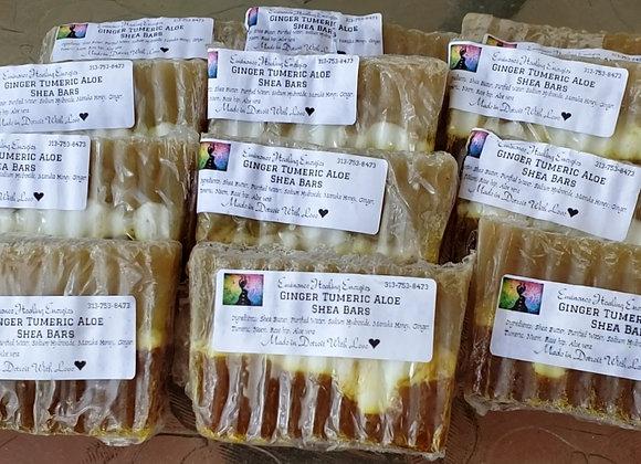 Ginger Tumeric Aloe Shea Soap