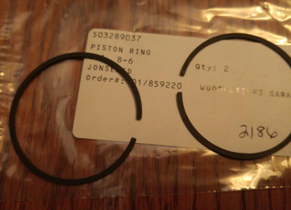 Jonsered OEM 2186 piston rings