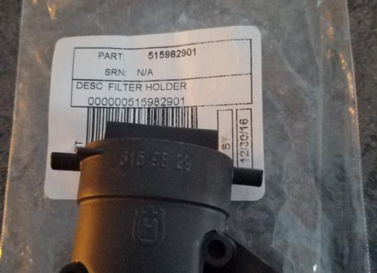 2166/2172 Filter elbow