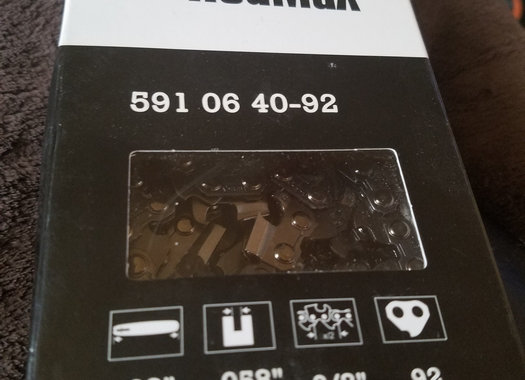 """Redmax 28"""" bar and chain combo New"""